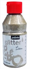 GLITTER GEL 250ml SILVER PEBEO